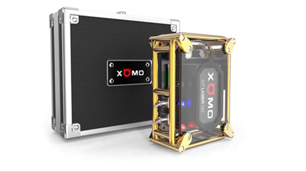 Fashion Box Mod Xomo Gt Laser 255s 150w 3500mah Youtube