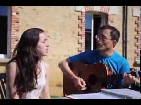 Tout ce temps- Idir cover ( Papa et Aurélia )
