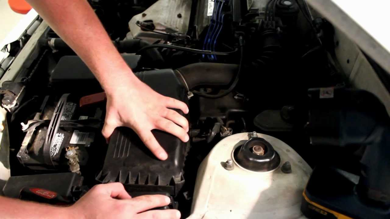 toyota camry corrola fuel filter replacement - youtube  youtube