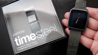 Pebble Time Steel Review - Unboxing & First Look