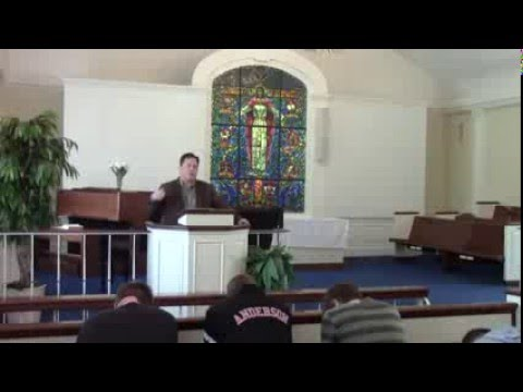 Dr. Chad Wallace Preaches in Chapel, 2/18/16
