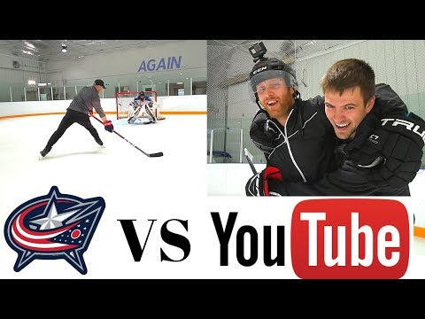 THE NASHER & PAVEL BARBER VS CAM ATKINSON & CAMPY    YouTubers VS Pros