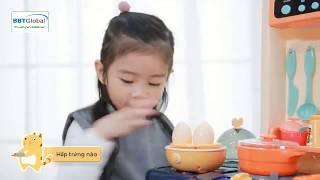 Cùng bé vào bếp trổ tài nấu ăn | Đồ chơi nấu ăn SIÊU TO và Hiện Đại tại babycuatoi.vn