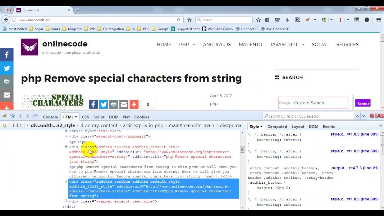 increase text size in firebug | chrome firebug | Firefox firebug