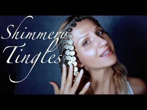 Gentle ASMR Face Touching * Sparkles of Light Guided Meditation Deep Relaxation