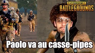 PAOLO VA AU CASSE-PIPES - PLAYERUNKNOWN'S BATTLEGROUNDS