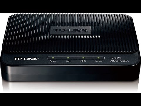 TP-LINK TD-8616 ADSL2+ Unbox And Overview Modem Stop Paying  Endless Modem Rental Fees