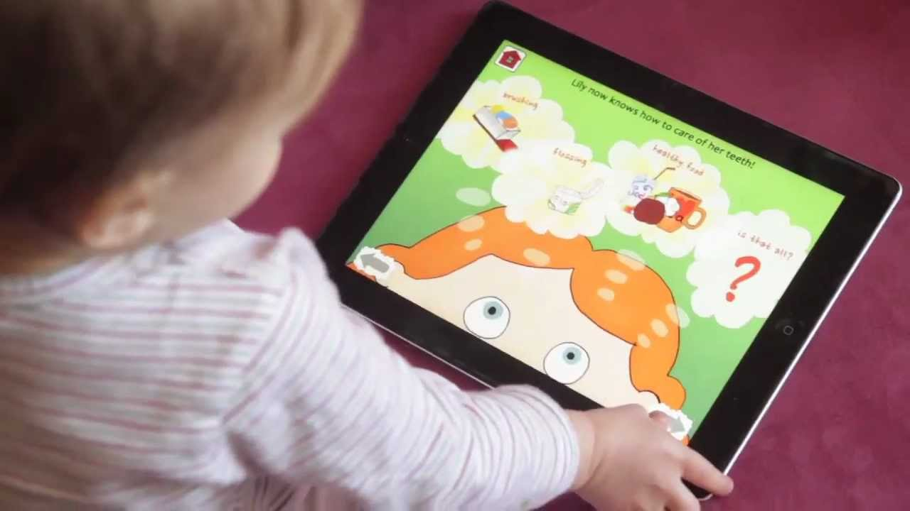 Kids Dental Health Ipad Educational Interactive Book