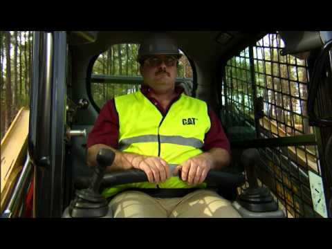 John Deere Skid Steer >> Cat® Skid Steer and Compact Track Loader Safety & Operating Tips: Part 2 - Safety - YouTube