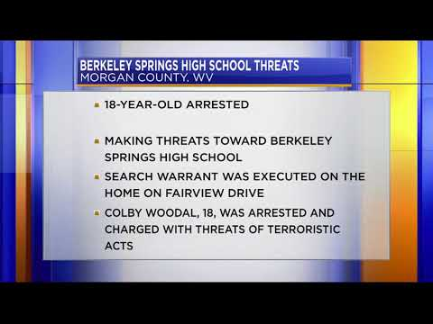 Threats towards Berkeley Springs High School