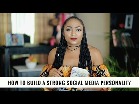 How to Build a Strong Social Media Personality