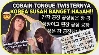 Nyobain ULAR MELINGKAR versi Korea? SUSAH BANGET WOI!