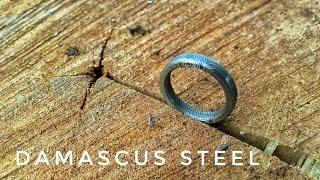 Making a Damascus Ring