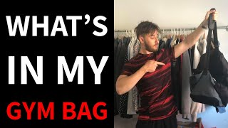 What's In My Gym Bag (Amateur Boxer Edition🥊) | MENS IMPROVEMENT