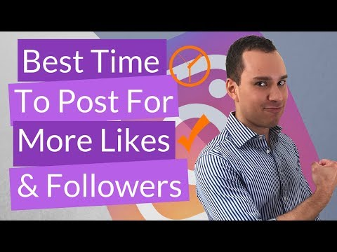 Best Time To Post To Instagram: Get More Likes & Followers
