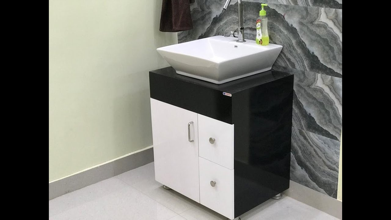 Counter Top Wash Basin Cabinet With Price Details