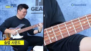 펜더 Fender Mexico Standard Jazz Bass V Pau Ferro