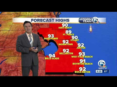South Florida weather 8/13/17 - 6pm report