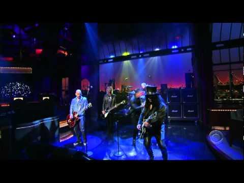 """Velvet Revolver: """"The Last Fight"""" (live David Letterman Show 2007)"""