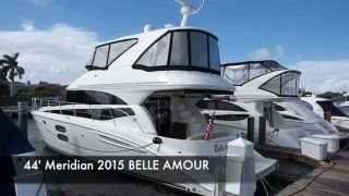 44' Meridian Sedan Bridge 441 Motor Yacht BELLE AMOUR