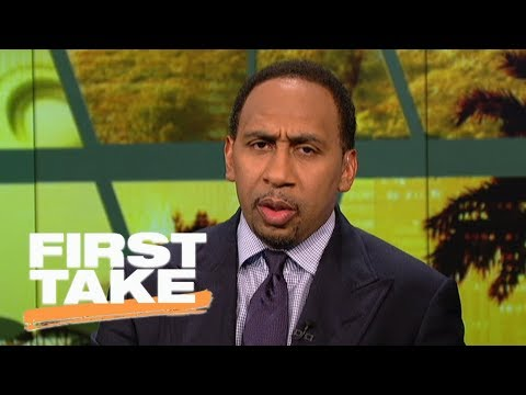 Stephen A. Smith calls ESPN's #NBArank 'garbage' for Carmelo Anthony rating | First Take | ESPN