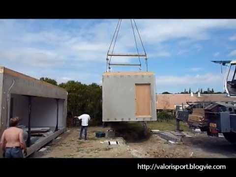 Cole modulaire b ton valorisport by moussard youtube for Module agrandissement maison