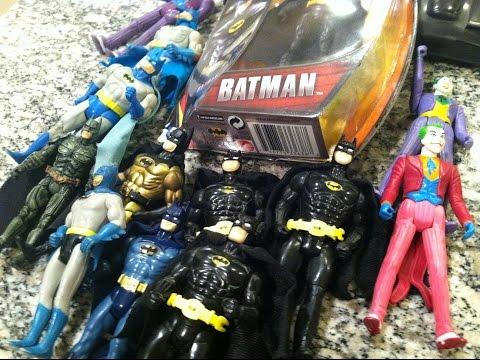 Kenner Batman 1989 vs Toybiz  Batman 1989 vs Super Powers review - MIKE PLAYS WITH TOYS #36
