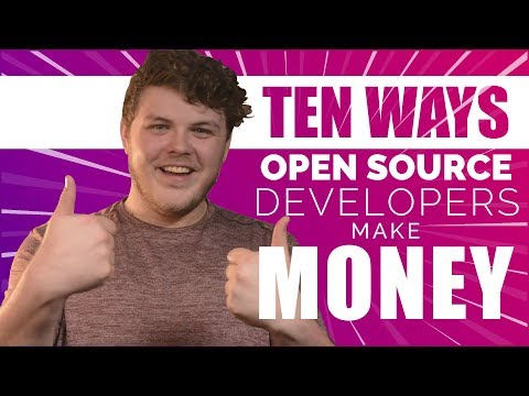 10 Ways to Make Money from Open Source Software! | The Linux Gamer