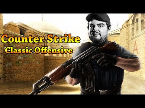Hiko plays Counter Strike Classic Offensive for the first time !