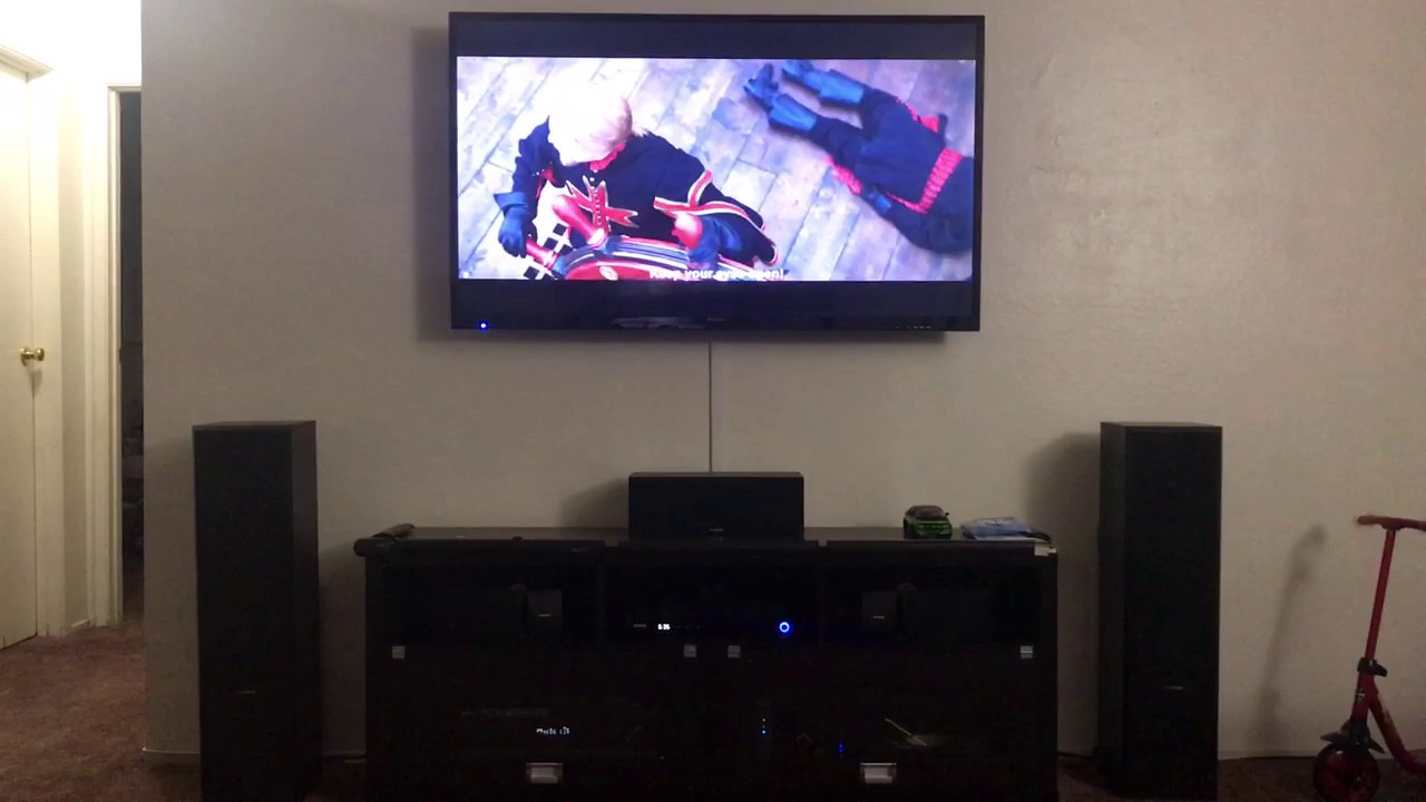 Living Room Home Theater Set Up 2017