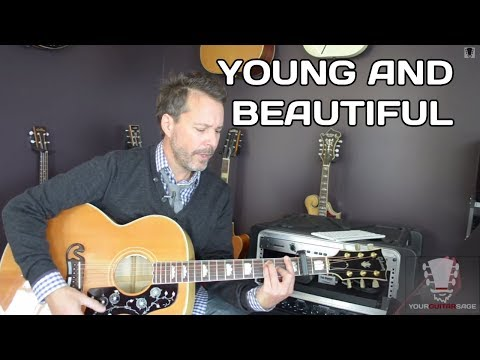 Young and Beautiful by Lana Del Rey Guitar Lesson