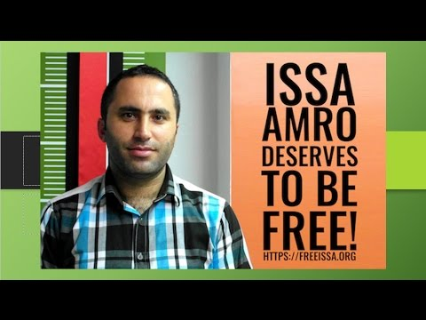 Gathering to Free Issa Amro and Support Palestinian Human Rights Defenders