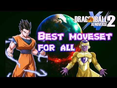 Dragon Ball Xenoverse 2 BEST MOVESET FOR ALL PLAYERS!