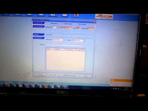 RealSoft 10.0 Attendance Management Software using Biometric Attendance Machine
