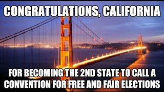 California Passes Historic Measure To Change The Constitution