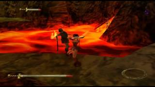 Xena: Warrior Princess - Stage 13 - Road To Hades [PS1] screenshot 2