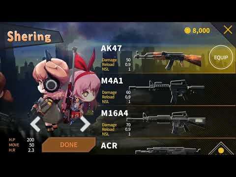 Gun&Girls.io: Battle Royaleのおすすめ画像1