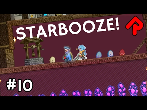 Starbooze, livestock & item network failure! | Let's Play Starbound Frackin' Universe mod ep 10
