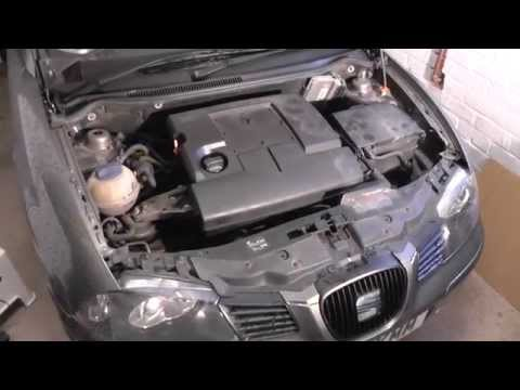 Seat Ibiza Engine Cover Removal Guide