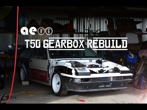 Shed Life ae86 Gearbox Rebuild, t50 removal & refresh