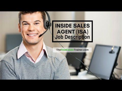 Inside Sales Agents (ISAs) - Job Description & Duites