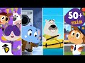 Dr. Panda TotoTime  Season 1  Full Episodes 78910  Kids learning video