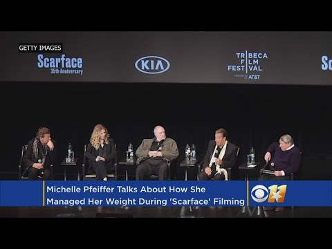 Question About Michelle Pfeiffer's Weight Raises Eyebrows At 'Scarface' Reunion