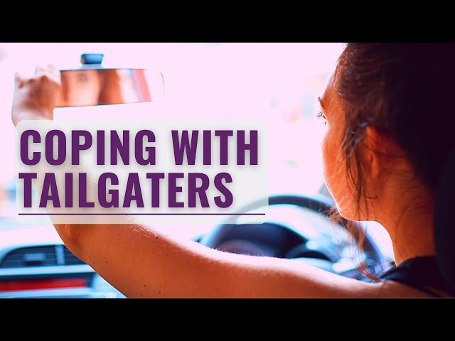 Driving Anxiety Tips | How To Deal With Aggressive Drivers Behind You