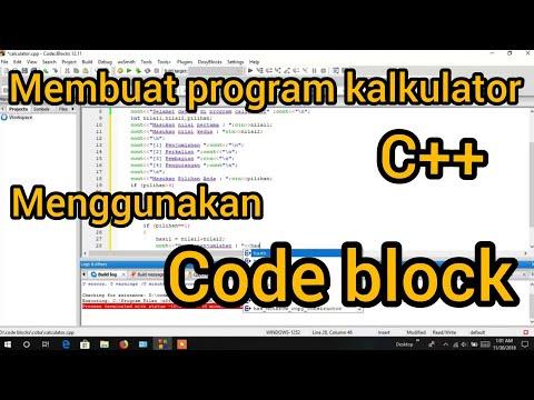 Cara Menggunakan Code Blocks C++