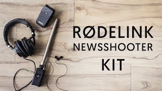 Everything I Needed for Wireless Audio! - RODELINK Newsshooter Kit Review