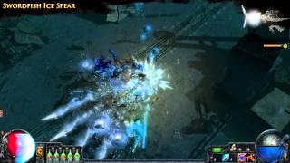Path of Exile - Swordfish Ice Spear