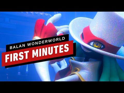 First 11 Minutes of Balan Wonderworld Demo Gameplay