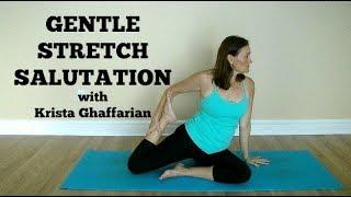 Gentle Yoga Stretch Salutation