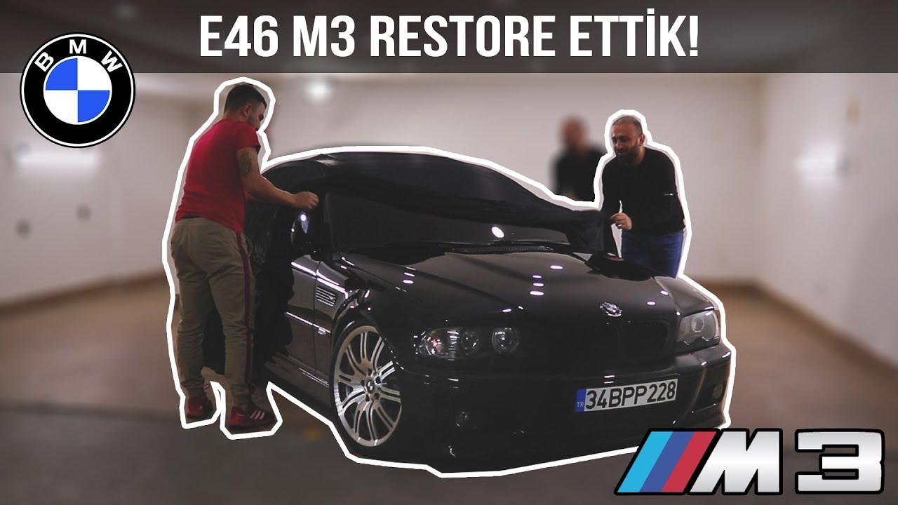 BMW E46 M3'ü Restore Ettik !   Ünal Turan